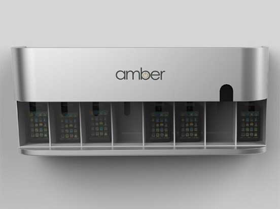 Amber product photo