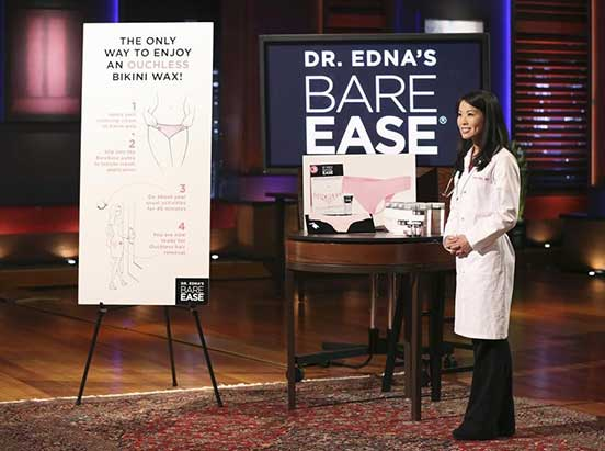 Bare Ease on Shark Tank