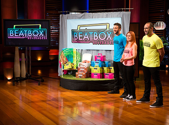 Beatbox Beverages on Shark Tank