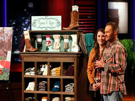 Grace and Lace on Shark Tank