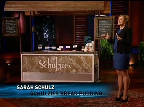 Schulzies Bread Pudding on Shark Tank